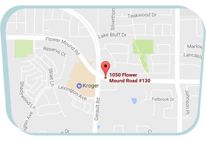 whittington-pediatric-dentistry-flower-mound-map